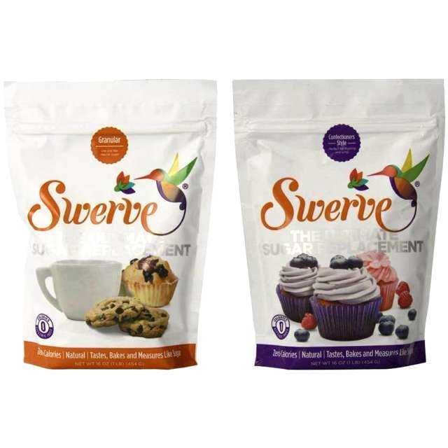 Swerve Sweetener, Granular and Confectioners