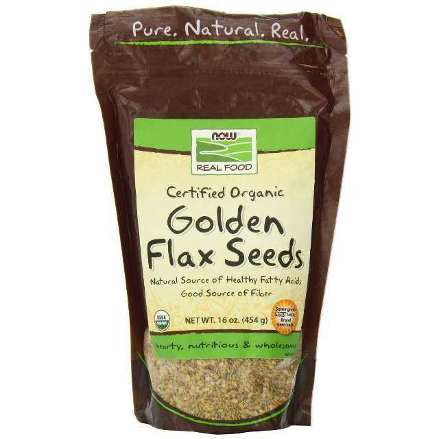 Now Foods Golden Flax Seeds