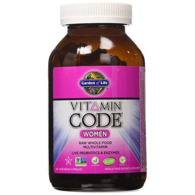 Garden of Life Vitamin Code Women's Multi