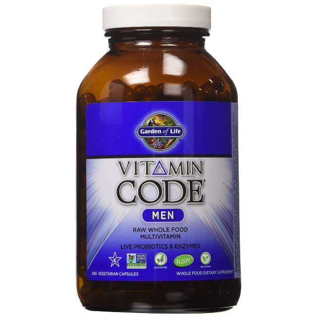 Garden of Life Vitamin Code Men's Multi
